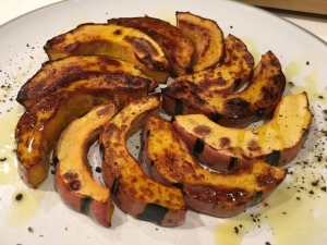 BAsked and likes delicatata squash