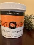 Botanical mud powder, mud wrap seattle